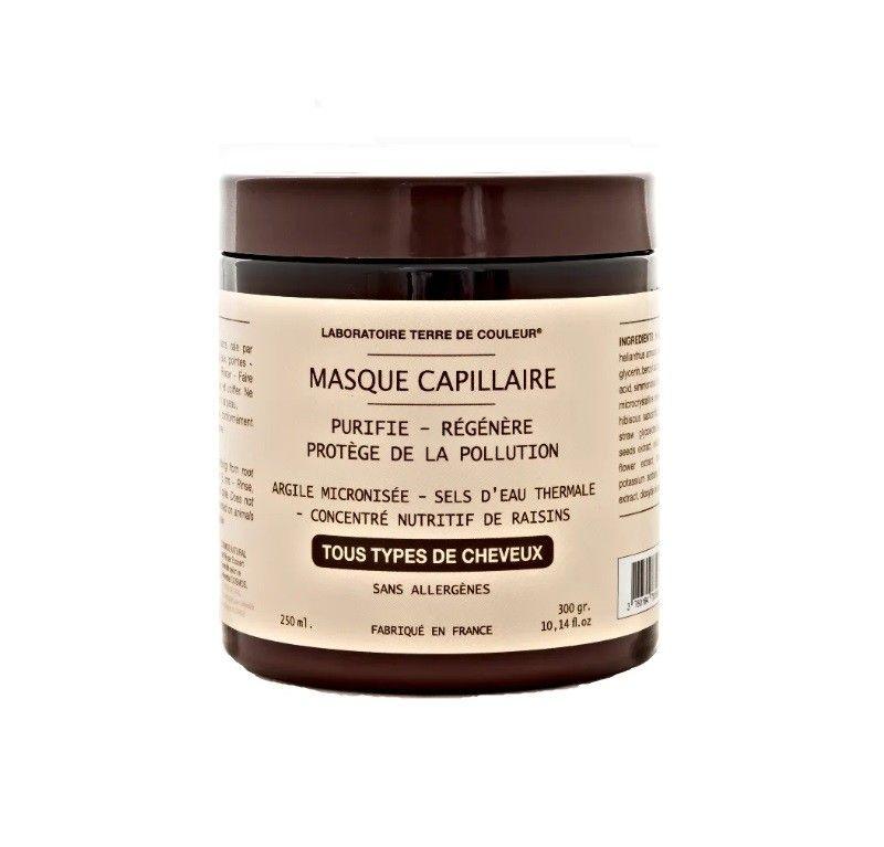 Masque capillaire purifiant bio